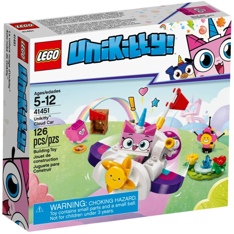 LEGO Unikitty Sets: 41451 Unikitty Cloud Car NEW