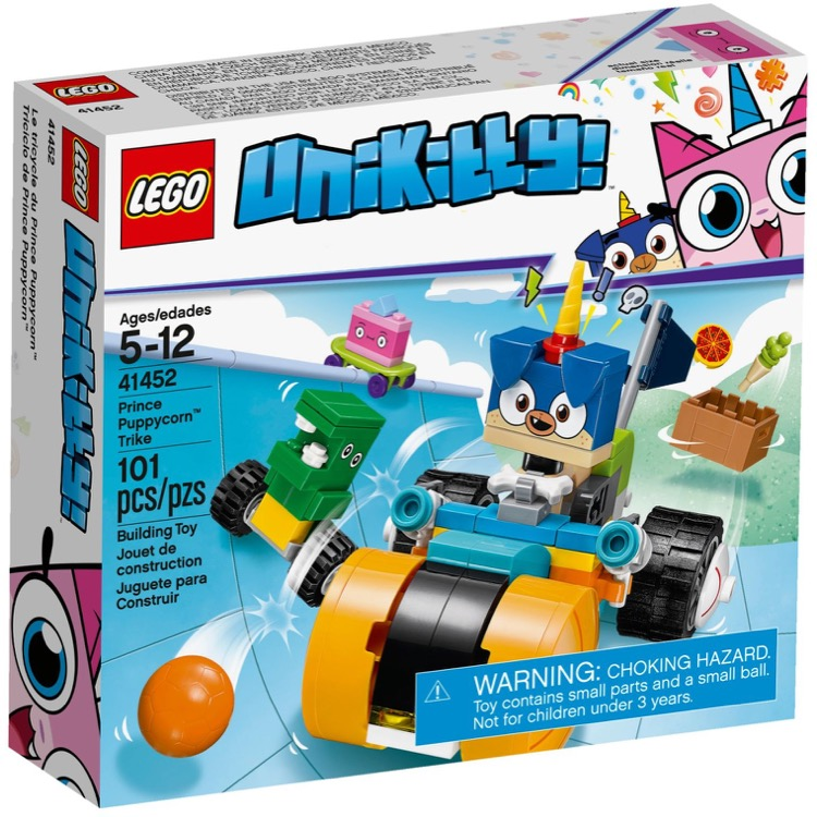 LEGO Unikitty Sets: 41452 Prince Puppycorn Trike NEW