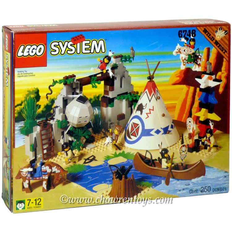 LEGO Western Sets: 6748 Boulder Cliff Canyon NEW *Rough Shape*