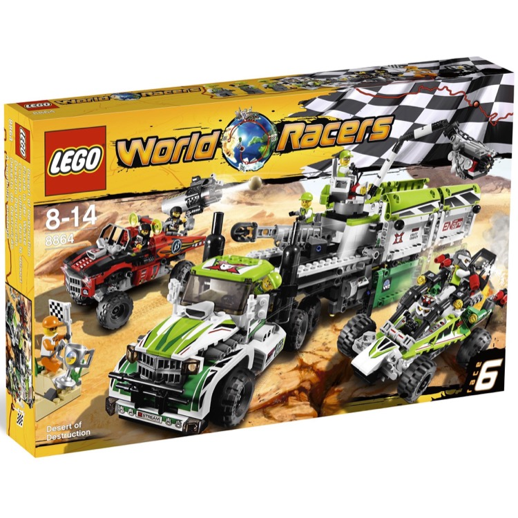 LEGO World Racers Sets: 8864 Desert of Destruction NEW
