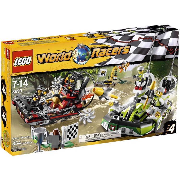 LEGO World Racers Sets: 8899 Gator Swamp NEW
