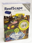 ReefScape Model Series 3: Custom LEGO RS0313 2 x Black & White Bannerfish NEW