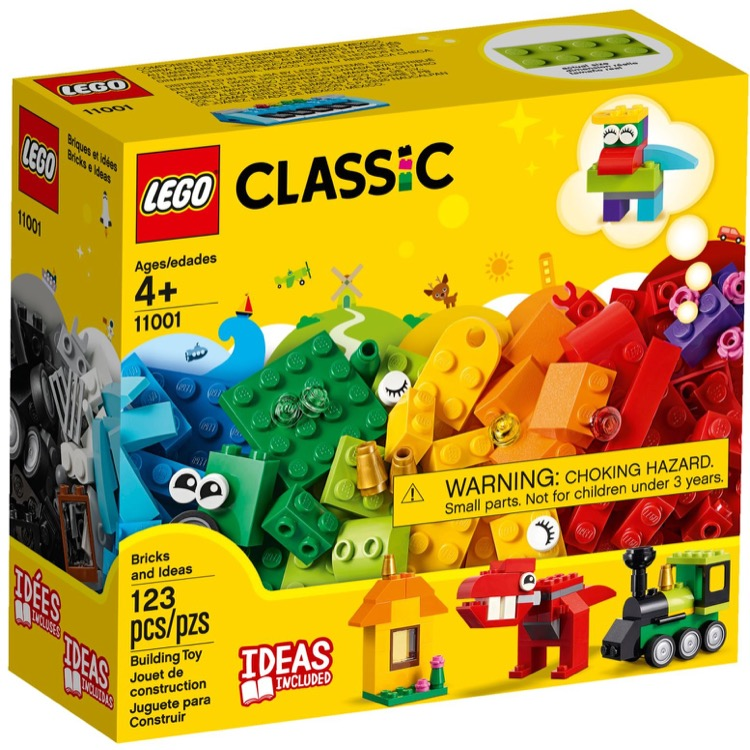 LEGO Classic Sets: 11001 Bricks and Ideas NEW
