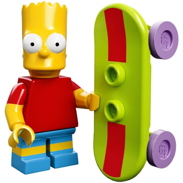 LEGO Collectible Minifigures: 71005 The Simpsons Series Bart Simpson NEW