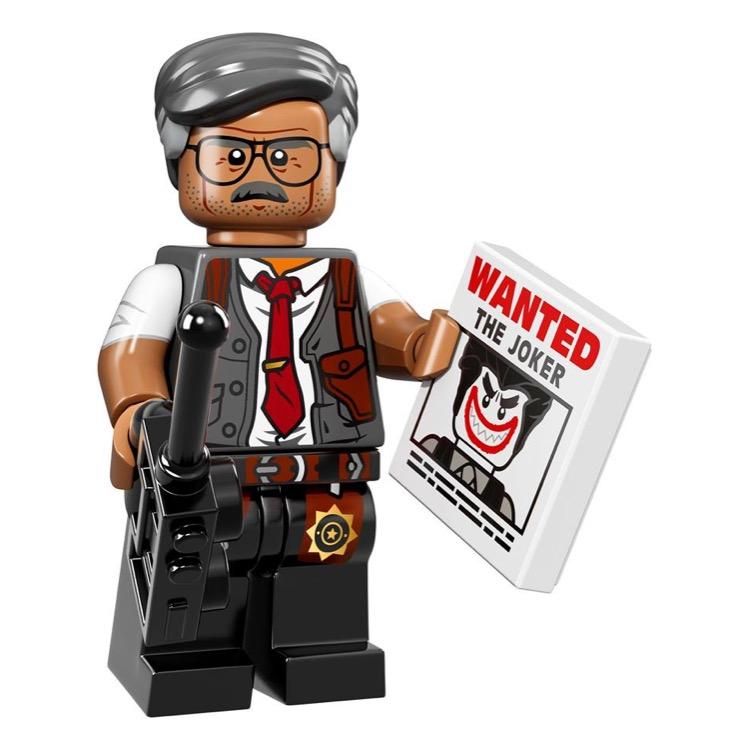 LEGO Collectible Minifigures: 71017 The LEGO Batman Movie Series Commissioner Gordon NEW