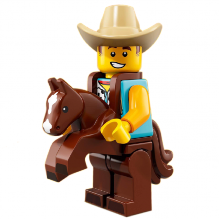 LEGO Collectible Minifigures: 71021 Series 18 Cowboy Costume Guy NEW