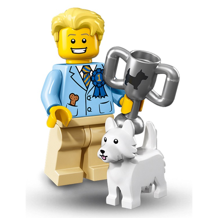 LEGO Collectible Minifigures: 71013 Series 16 Dog Show Winner NEW