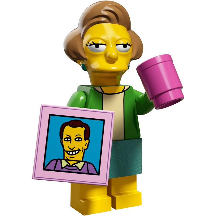 LEGO Collectible Minifigures: 71009 The Simpsons Series 2 Edna Krabappel NEW