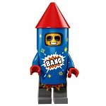 LEGO Collectible Minifigures: 71021 Series 18 Firework Guy NEW