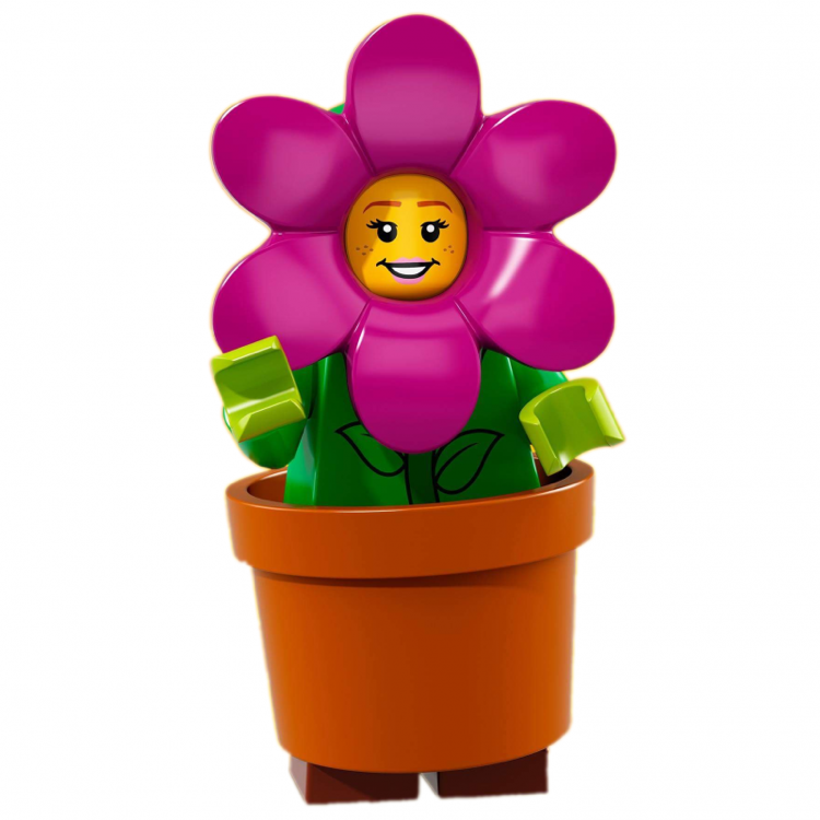 LEGO Collectible Minifigures: 71021 Series 18 Flower Pot Girl NEW