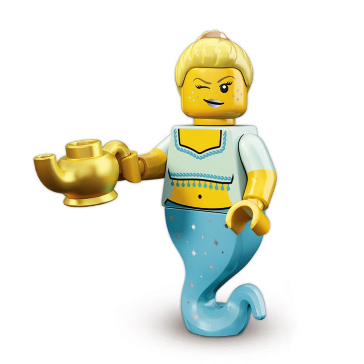 LEGO Collectible Minifigures: 71007 Series 12 Genie Girl NEW