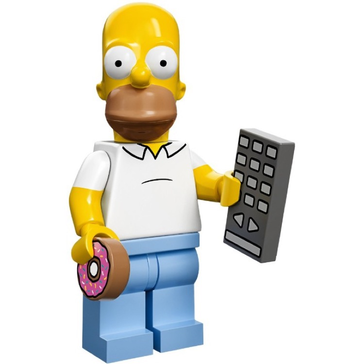 LEGO Collectible Minifigures: 71005 The Simpsons Series Homer Simpson NEW