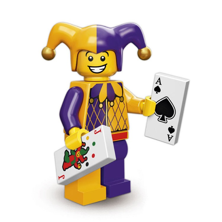 LEGO Collectible Minifigures: 71007 Series 12 Jester NEW