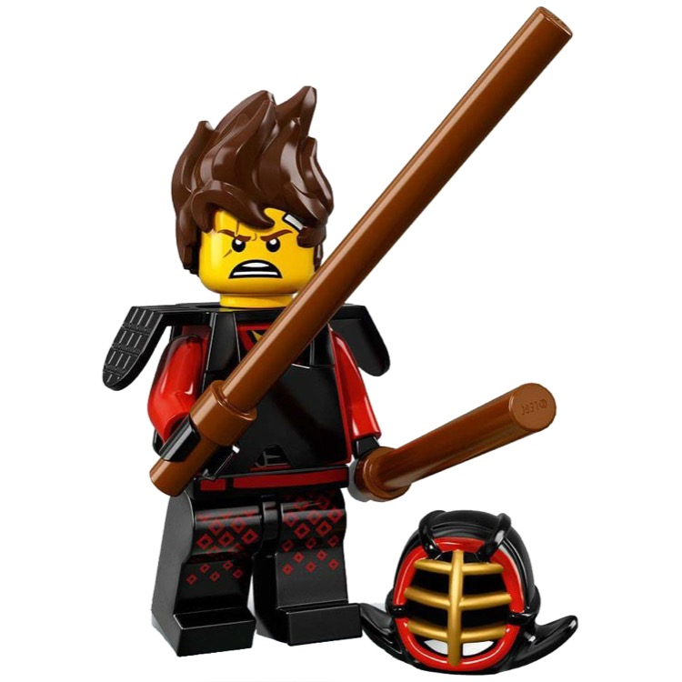 LEGO Collectible Minifigures: 71019 The LEGO Ninjago Movie Series Kai Kendo NEW