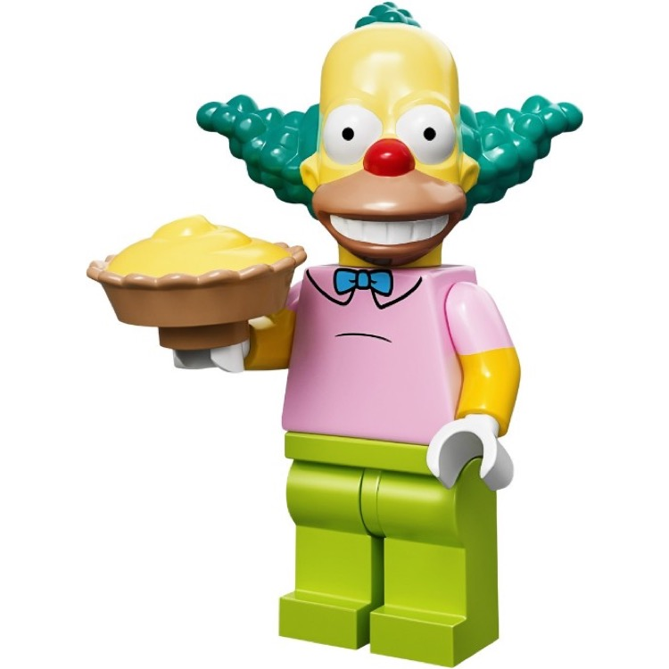 LEGO Collectible Minifigures: 71005 The Simpsons Series Krusty the Clown NEW