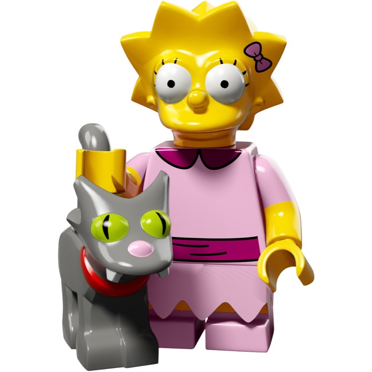 LEGO Collectible Minifigures: 71009 The Simpsons Series 2 Lisa and Snowball II NEW