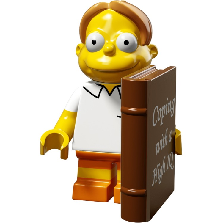 LEGO Collectible Minifigures: 71009 The Simpsons Series 2 Martin Prince NEW