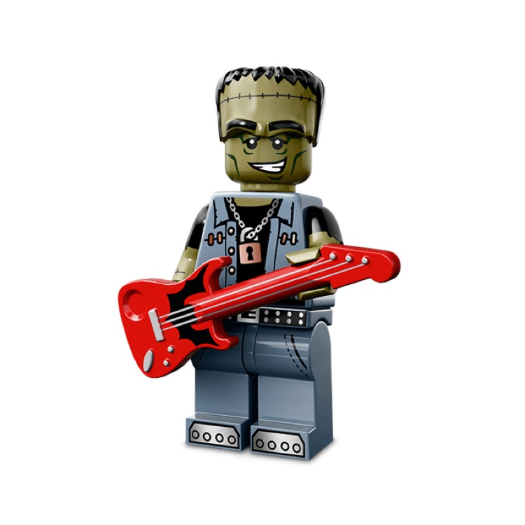 LEGO Collectible Minifigures: 71010 Series 14 Monster Rocker NEW