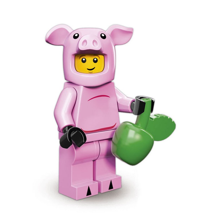 LEGO Collectible Minifigures: 71007 Series 12 Piggy Guy NEW