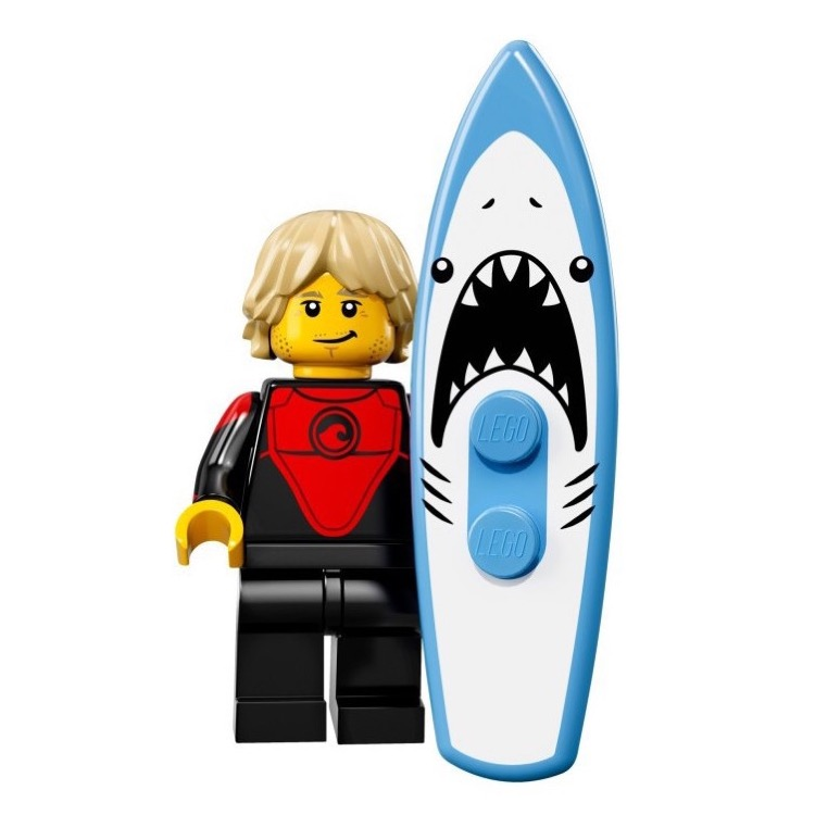 LEGO Collectible Minifigures: 71018 Series 17 Professional Surfer NEW