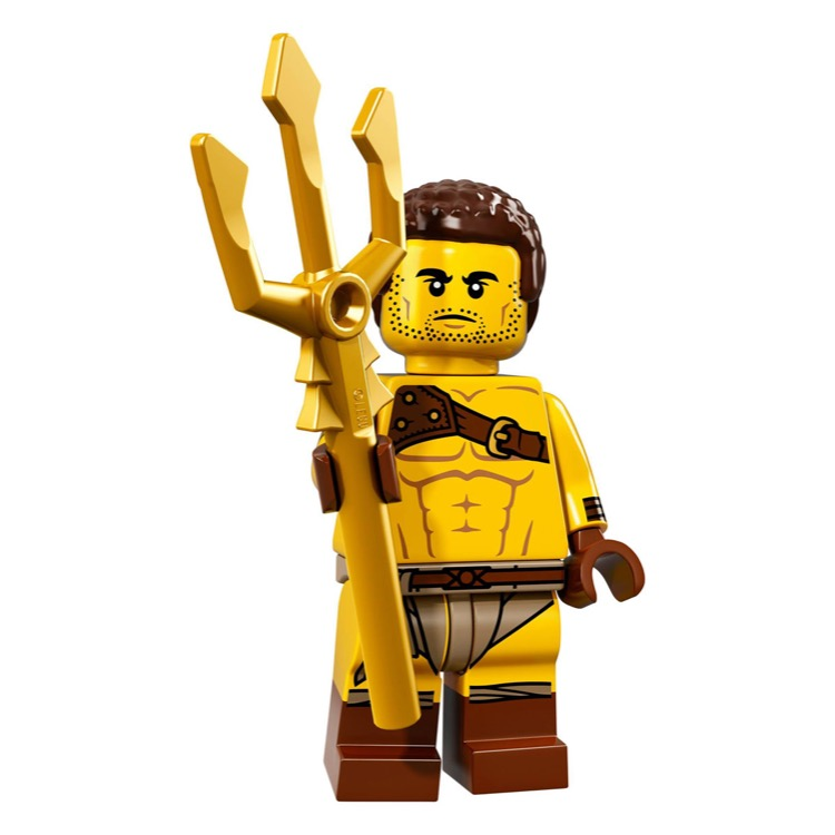 LEGO Collectible Minifigures: 71018 Series 17 Roman Gladiator NEW