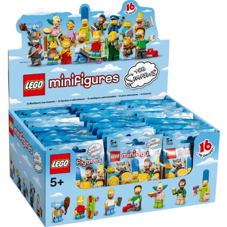 LEGO Collectible Minifigures: 71005 The Simpsons Series (Sealed Box of 60) NEW