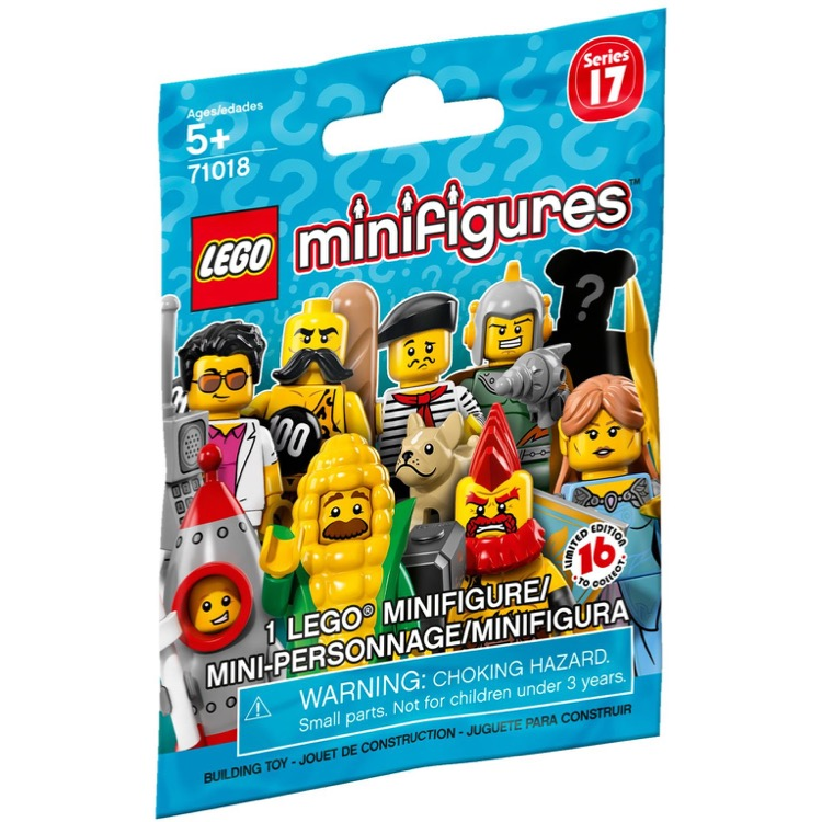 LEGO 71018 New SEALED #16 Mystery Highway Man Collectible Minifigure Series 17