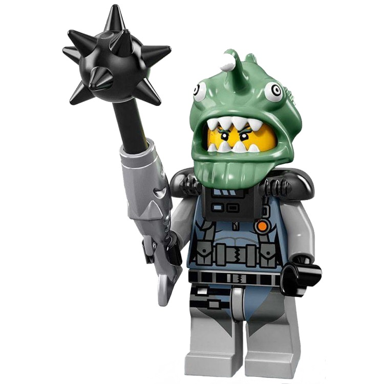 LEGO Collectible Minifigures: 71019 The LEGO Ninjago Movie Series Shark Army Angler NEW