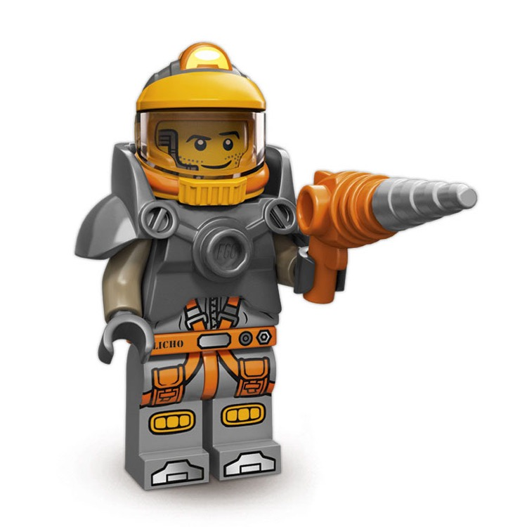 LEGO Collectible Minifigures: 71007 Series 12 Space Miner NEW