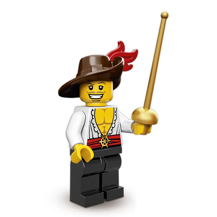 LEGO Collectible Minifigures: 71007 Series 12 Swashbuckler NEW