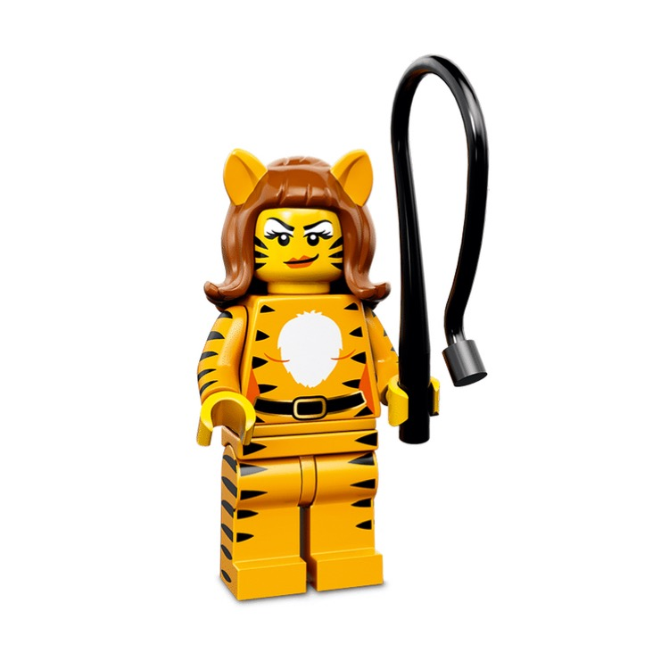LEGO Collectible Minifigures: 71010 Series 14 Tiger Woman NEW