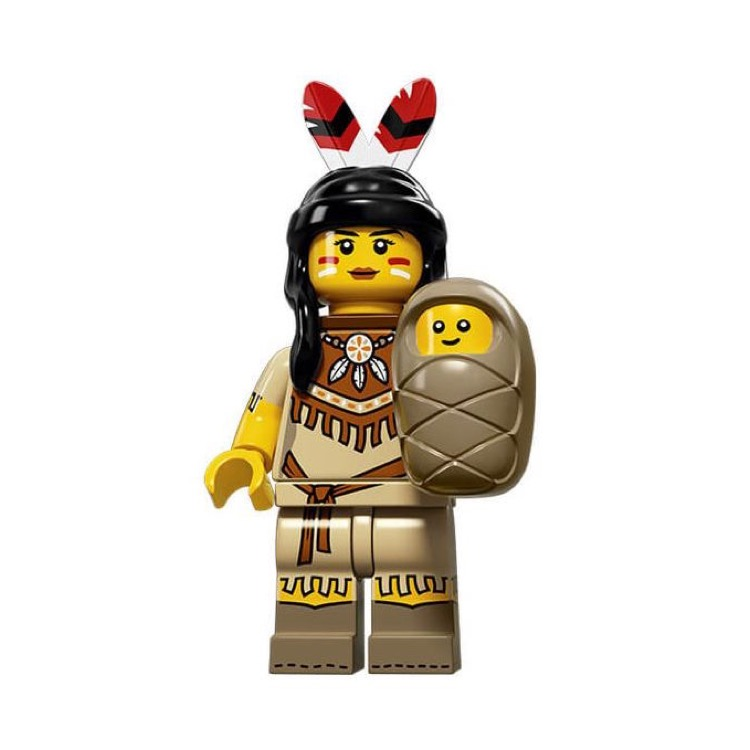 LEGO Collectible Minifigures: 71011 Series 15 Tribal Woman NEW