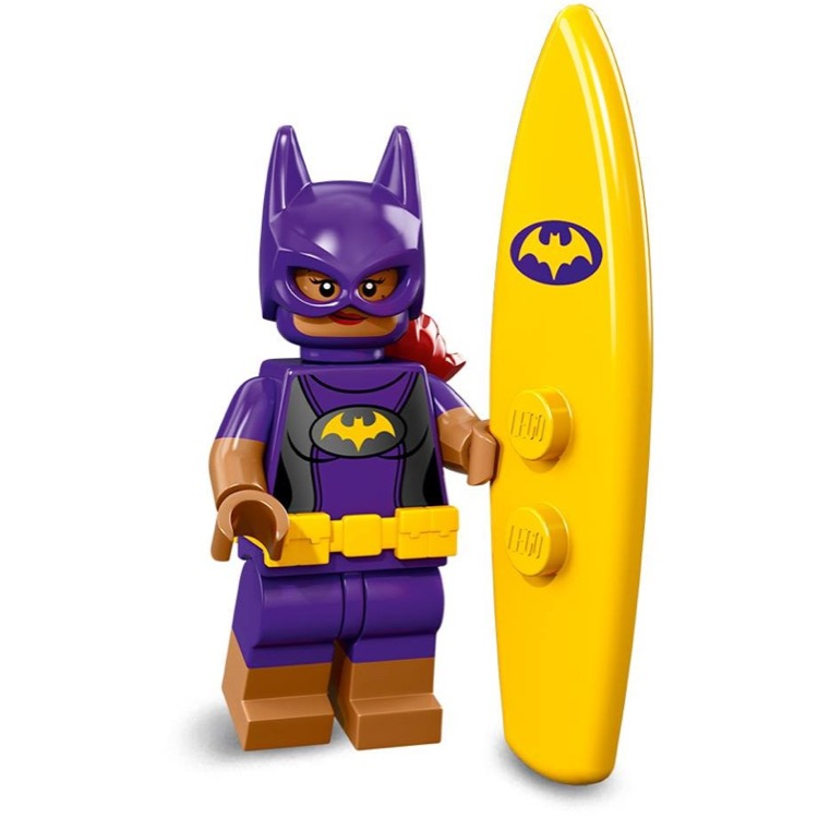 LEGO Collectible Minifigures: 71020 The LEGO Batman Movie Series 2 Vacation Batgirl NEW