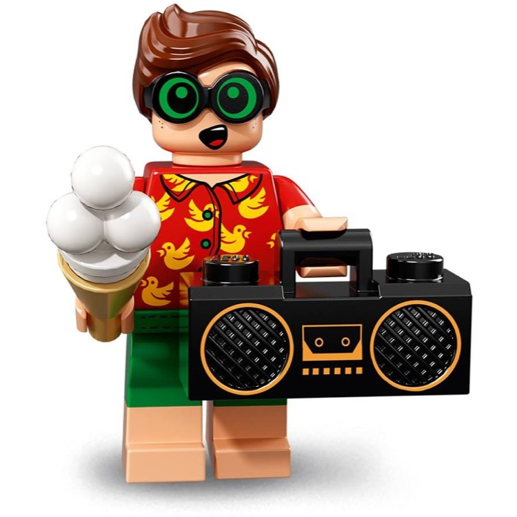 LEGO Collectible Minifigures: 71020 The LEGO Batman Movie Series 2 Vacation Robin NEW
