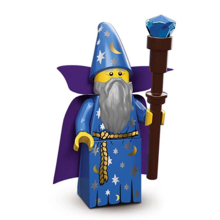 LEGO Collectible Minifigures: 71007 Series 12 Wizard NEW
