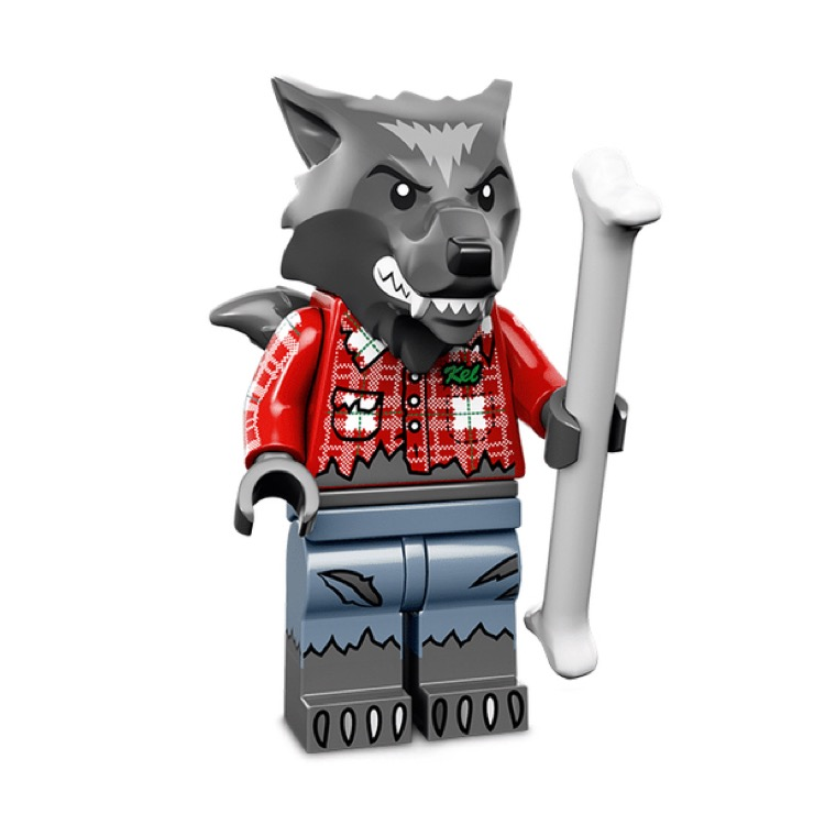 LEGO Collectible Minifigures: 71010 Series 14 Wolf Guy NEW