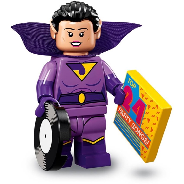 LEGO Collectible Minifigures: 71020 The LEGO Batman Movie Series 2 Wonder Twin (Jayna) NEW
