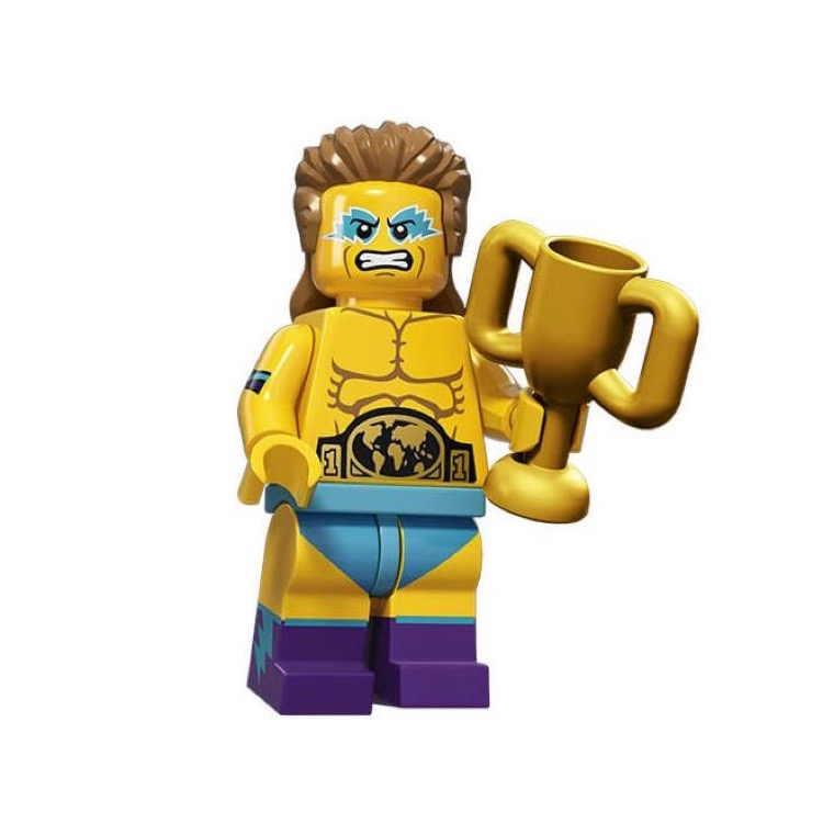 LEGO Collectible Minifigures: 71011 Series 15 Wrestling Champion NEW