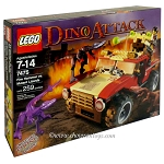 LEGO Dino Sets: Dino Attack 7475 Fire Hammer vs. Mutant Lizards NEW