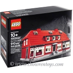 LEGO Exclusives Sets: Employee Gift 4000007 Ole Kirk's House NEW *Rough Shape*