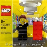 LEGO Exclusives Sets: 5001622 Promotional Minifigure LEGO Store Employee NEW (Polybag Version)
