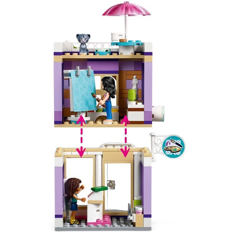 LEGO Friends New /& Factory Sealed! Emma's Art Studio 41365