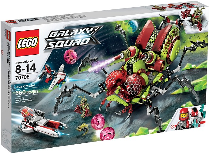 LEGO Space Sets: LEGO Galaxy Squad 70708 Hive Crawler NEW