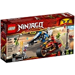 LEGO Ninjago Sets: 70667 Kai's Blade Cycle & Zane's Snowmobile NEW