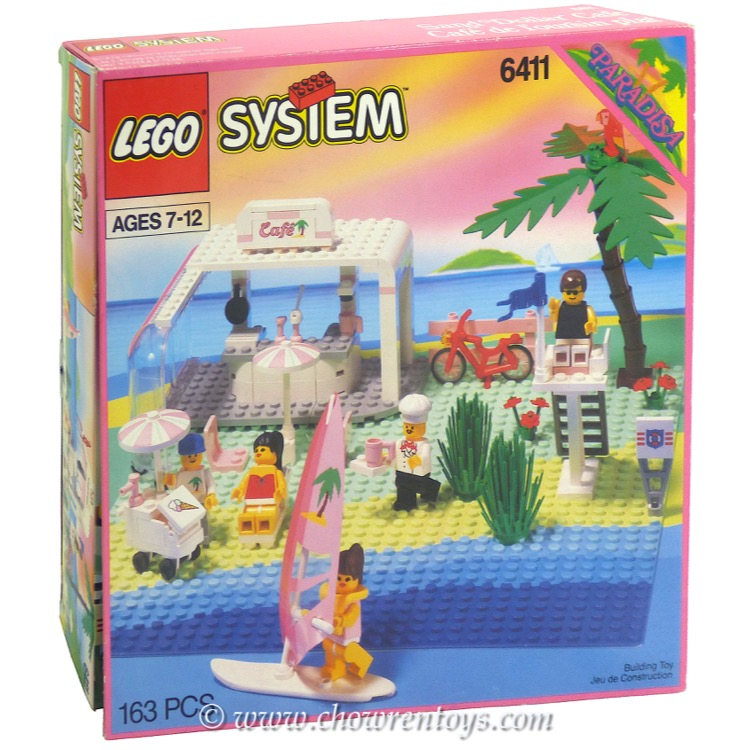 LEGO Town Sets: Paradisa 6411 Sand Dollar Cafe NEW