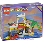 LEGO Pirates Sets: 6263 Imperial Outpost NEW *Rough Shape*