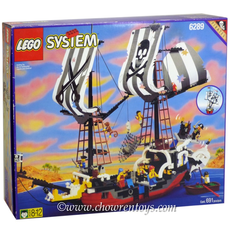 LEGO Pirates Sets: 6289 Red Beard Runner NEW