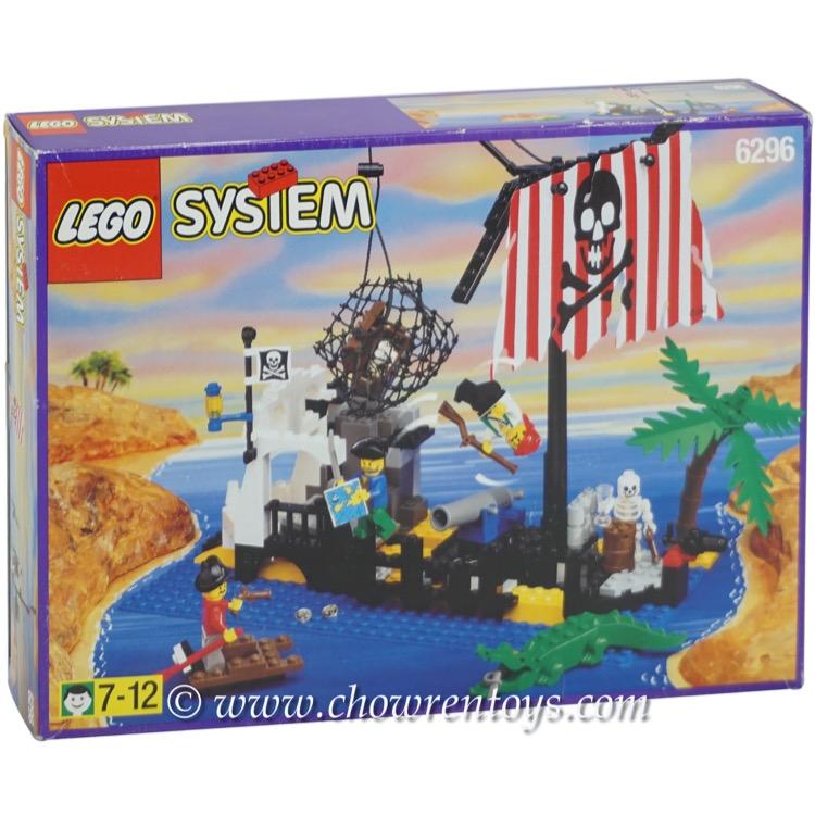 Lego Pirates Sets 6296 Shipwreck Island New