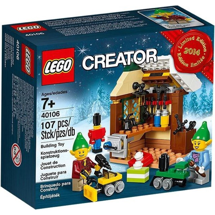 LEGO Seasonal Sets: Holiday 40106 Elves' Workshop NEW