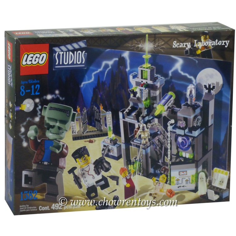 LEGO Studios Sets: 1382 Scary Laboratory NEW *Rough Shape*